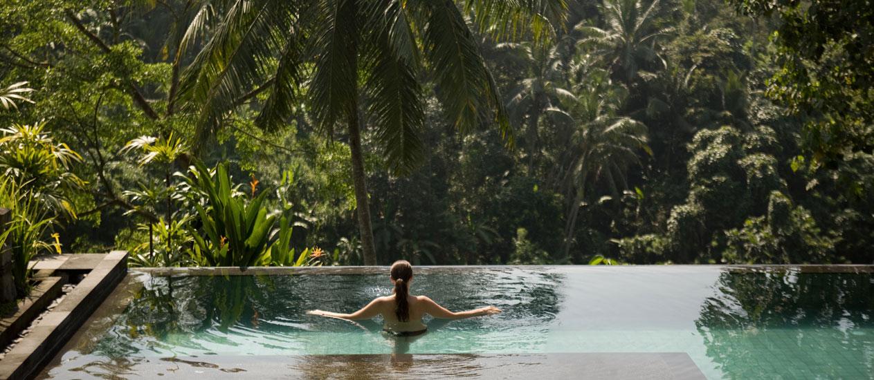 Deluxe Pool Villa At Kamandalu Ubud  Bali