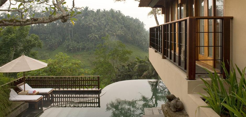 Luxury villas at kamandalu ubud resort and spa in bali for Garden pool villa ubud village resort