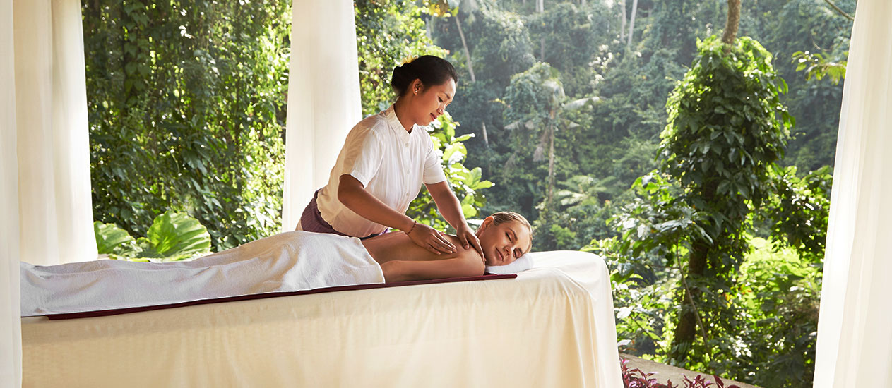 Forest Spa at Chaya Spa; Stunningly located in the edge of the tropical Petanu valley, this Forest Spa is the perfect place to escape the pressures of modern living and reconnect with nature.