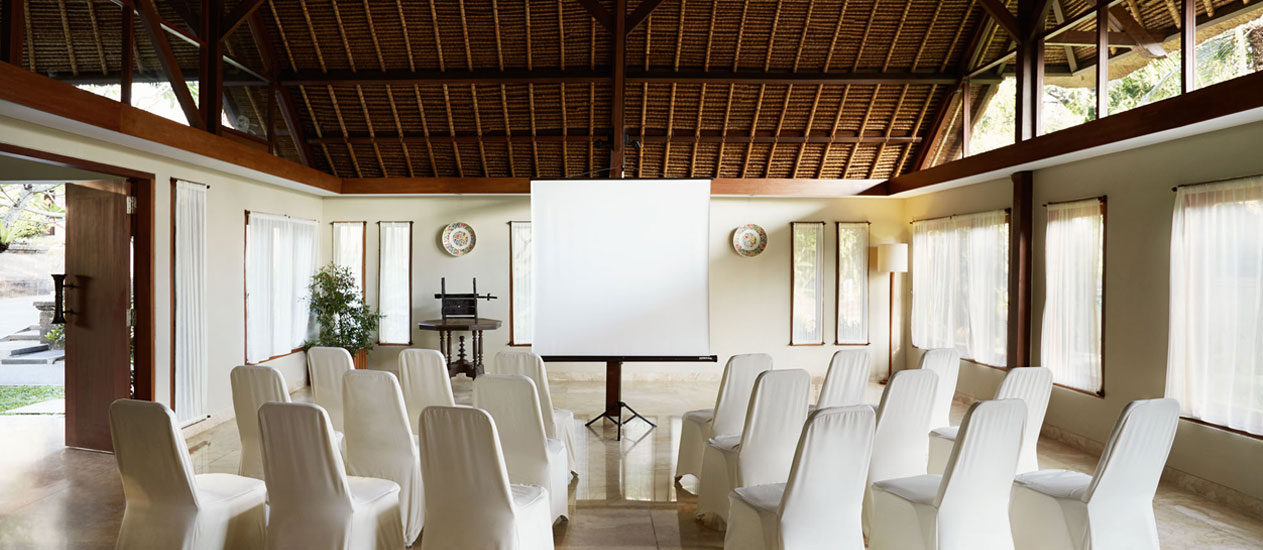 Meeting venue at Kamandalu Ubud, Bali