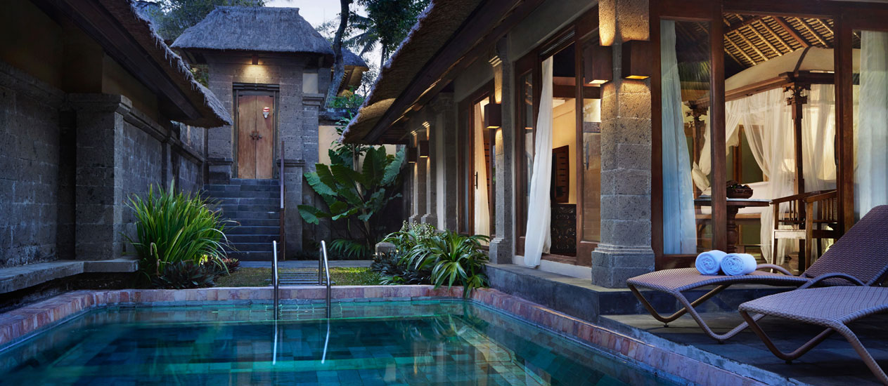 Private Pool Villa - Kamandalu Resort and Spa, Ubud, Bali - Accommodation, villas, resort in Ubud