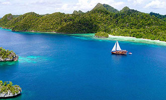 Sequoia Yacht Cruise Charter by Coral Triangle Safaris