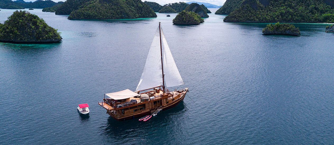 Private Yacht Cruise Charter to Komodo, Raja Ampat, Solor Alor, Wakatobi by Sequoia Yacht Coral Triangle Safaris, Kamandalu Ubud, Bali