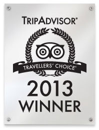 Kamandalu Ubud, A five star hotel resort in Bali won a 2013 Travellers' Choice award: Top 25 Hotels in Indonesia