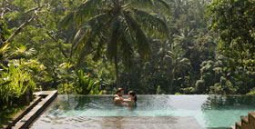 Ubud Honeymoon Package at Kamandalu Reort and Spa, Ubud, Bali
