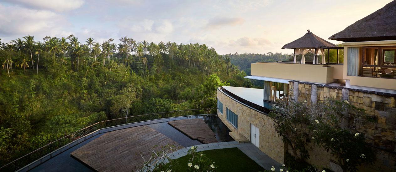 Presidential Villa Rama Three Bedroom Pool Villa At Kamandalu Ubud A Five Stars Resort And Spa In Bali