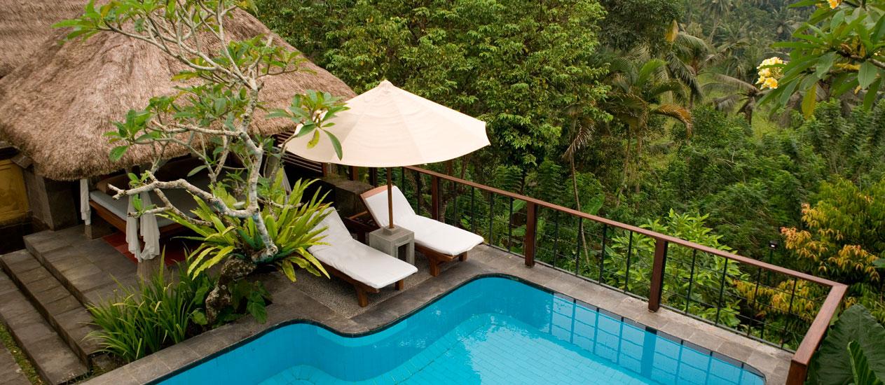 Two Bedroom Valley Pool Villa At Kamandalu Ubud A Five Star Luxury Hotel Resort In Bali