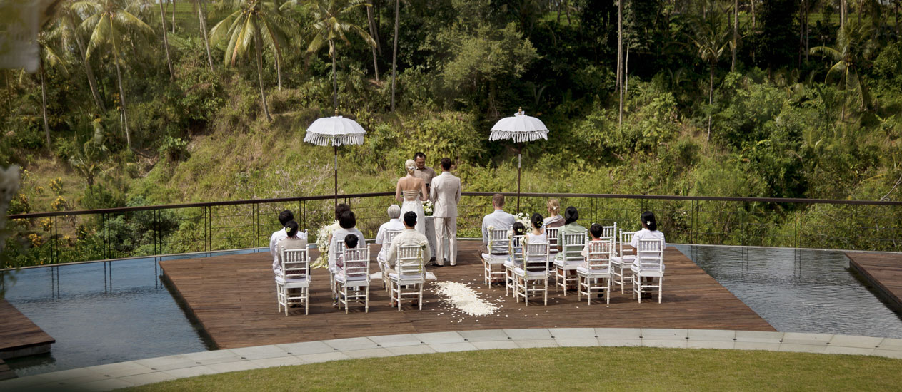Simple Elegant Wedding Package - Alun-Alun Wedding Venue at Kamandalu Ubud, Bali
