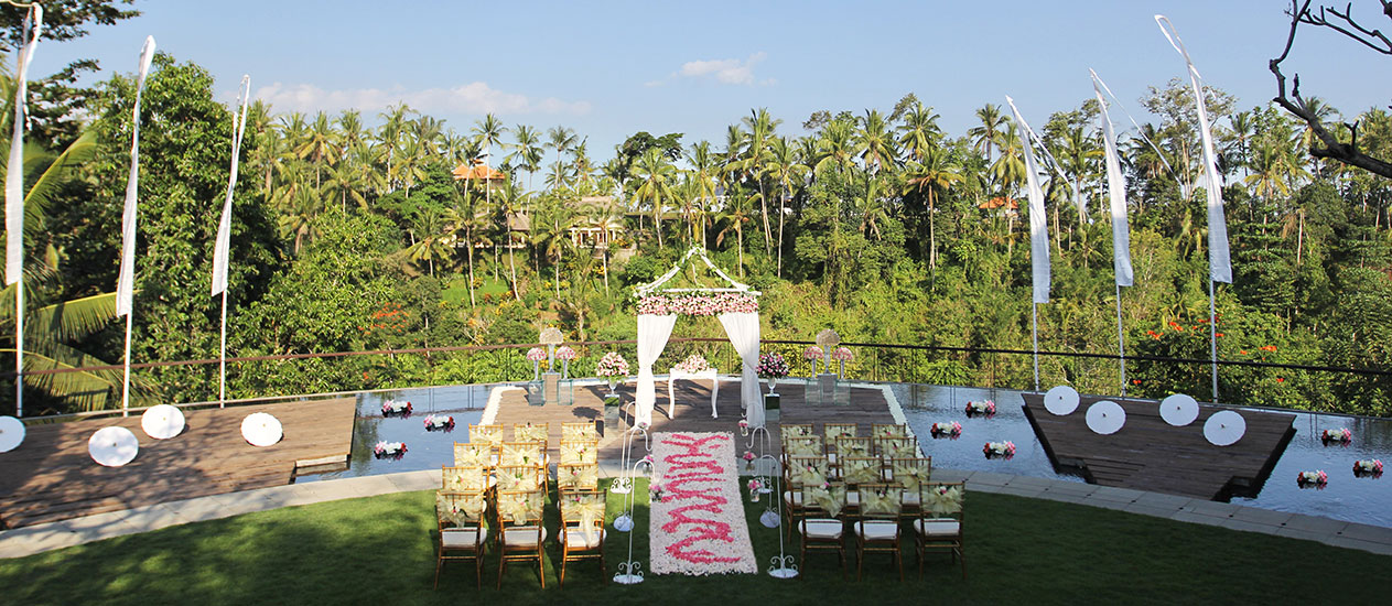 Ubud wedding venue - Alun-Alun at Kamandalu Ubud, Bali