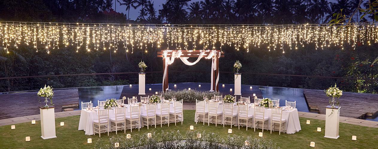 Ubud Wedding Venue And Package At Kamandalu Ubud Luxury Hotel