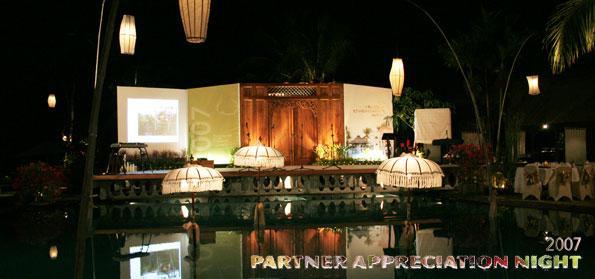 Partner Appreciation Night 2007