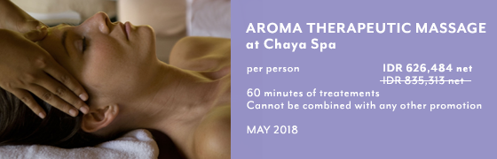 Aroma Therapeutic Massage at Chaya Spa - Kamandalu Ubud, Bali