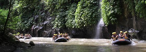 Ayung White Water Rafing  - Ubud Experience by Kamandalu Ubud