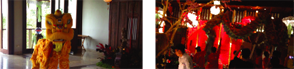 Celebration of Lunar New Year 2014 at Kamandalu Resort and Spa, Ubud, Bali