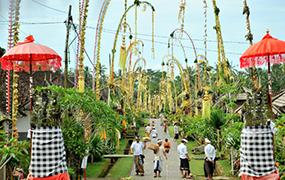 Galungan Day, Ubud, Bali