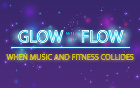 Glow Flow Party at Kamandalu Ubud