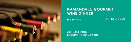 Kamandalu Gourmet Wine Dinner at Petulu Restaurant - Kamandalu Ubud, Bali