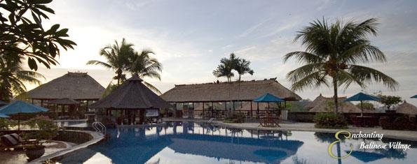 Enchanting Balinese Village at Kamandalu Resort and Spa