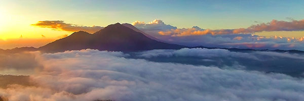Sunrise at Mount Batur by Kamandalu Ubud