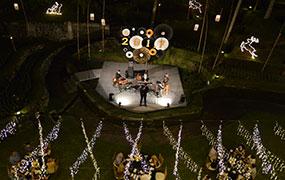 New Year Eve Celebration at Kamandalu Ubud, Bali