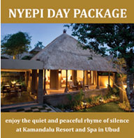 Nyepi Package, Kamandalu Resort and Spa, Ubud, Bali