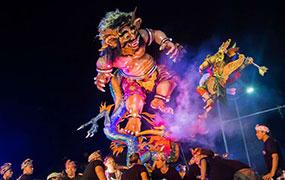 Ogoh Ogoh festival - Kamandalu Ubud, Bali