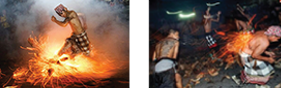 Perang Api - Fire War, Ubud, Bali
