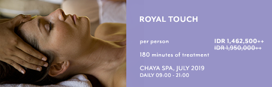 Royal Touch at Chaya Spa - Kamandalu Ubud, Bali