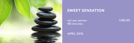 Sweet Sensation at Chaya Spa