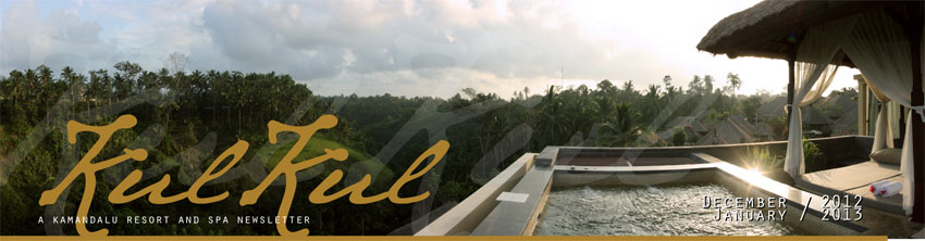 Kul Kul - Kamandalu newsletter December, 2012 - January, 2013