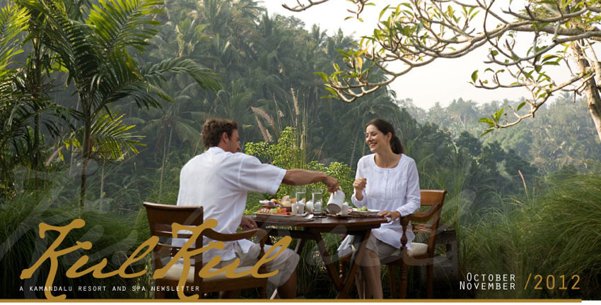 Kul Kul - Kamandalu newsletter October - November, 2012