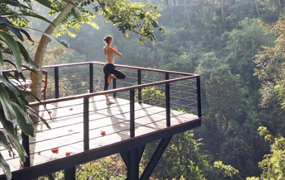 Tree Deck is new facilities at Kamandalu Ubud