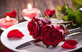 Valentine's Day Dinner at Petulu Restaurant of Kamandalu Ubud, Bali