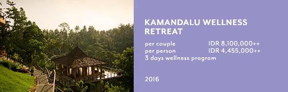 Kamandalu Wellness Retreat Program at Chaya Spa, Kamandalu Ubud, Bali
