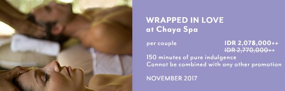 Wrapped in love at Chaya Spa - Kamandalu Ubud, Bali